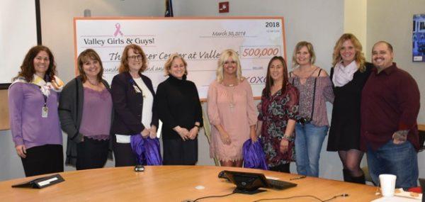 Pledge for $500k to Valley Medical / UW Medicine Cancer Center