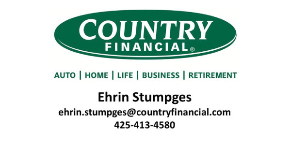 Country Financial Erin Stumpgas - Starting Line Sponsor for Be The Hope Walk 2019
