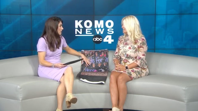 Tina McDonough interview on KOMO TV