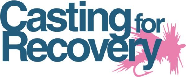 Casting for Recovery logo - dedicated to supporting breast cancer patients through sport fly fishing